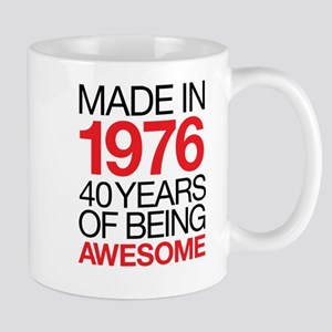 Made in 1976 40 Years Mugs